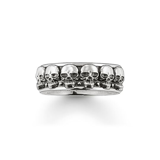 ring skulls from the  collection in the THOMAS SABO online store