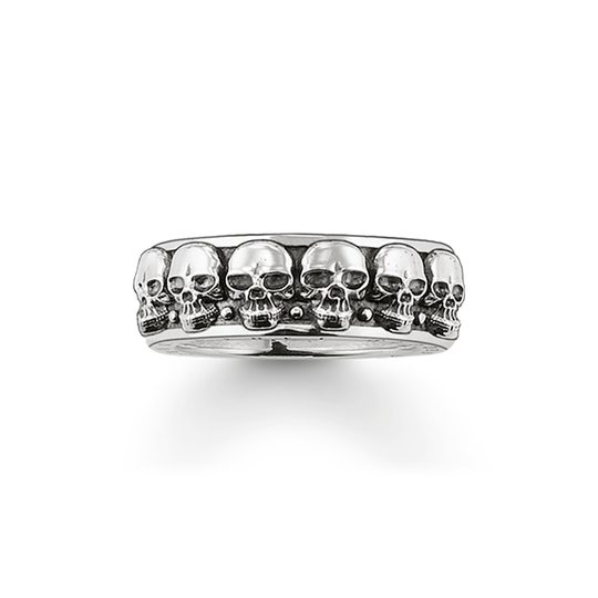 Ring Totenköpfe aus der Rebel at heart Kollektion im Online Shop von THOMAS SABO