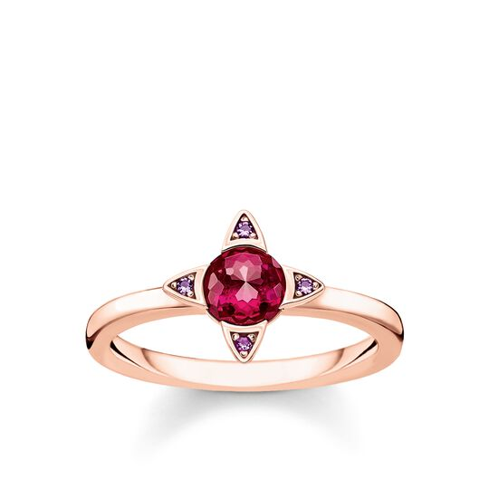 bague Pierres colorées rose de la collection Glam & Soul dans la boutique en ligne de THOMAS SABO