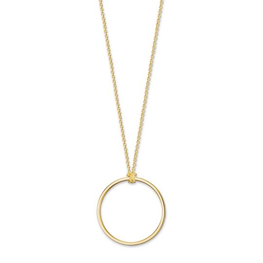 Charm necklace Circle from the Charm Club collection in the THOMAS SABO online store