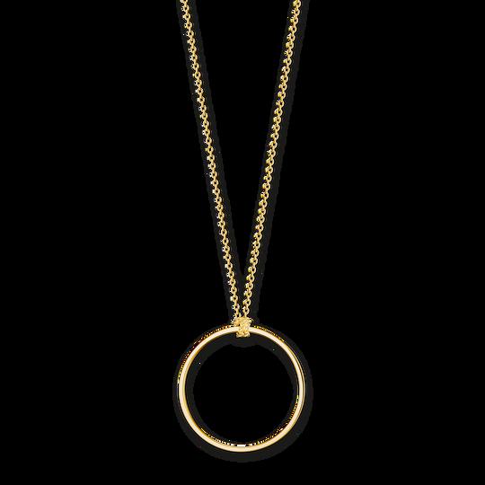 Charm-Kette Kreis gold aus der Charm Club Kollektion im Online Shop von THOMAS SABO