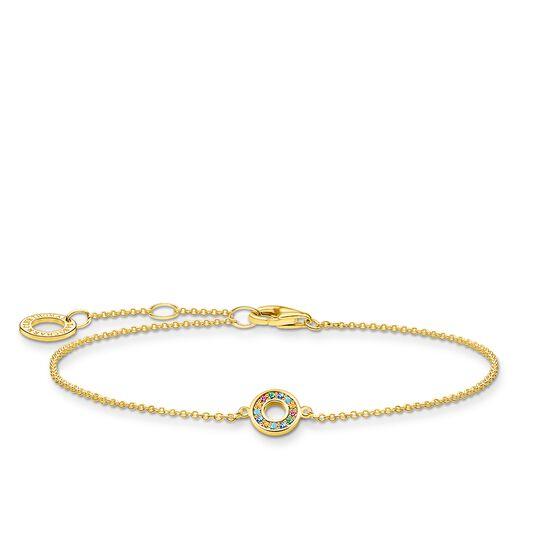 Armband farbige Steine gold aus der Charming Collection Kollektion im Online Shop von THOMAS SABO