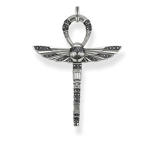 "pendant ""cross of life ankh with scarab"" from the Rebel at heart collection in the THOMAS SABO online store"