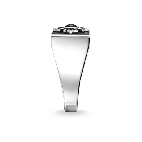 "ring ""Royalty cross"" from the Rebel at heart collection in the THOMAS SABO online store"