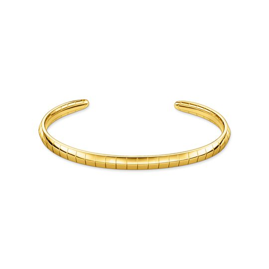 Bangle snakeskin gold from the  collection in the THOMAS SABO online store