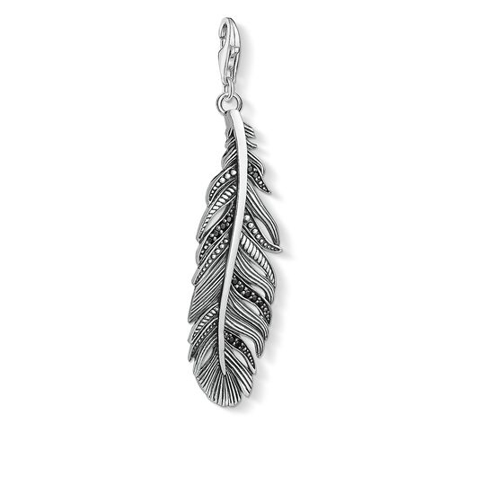 Charm pendant feather from the  collection in the THOMAS SABO online store