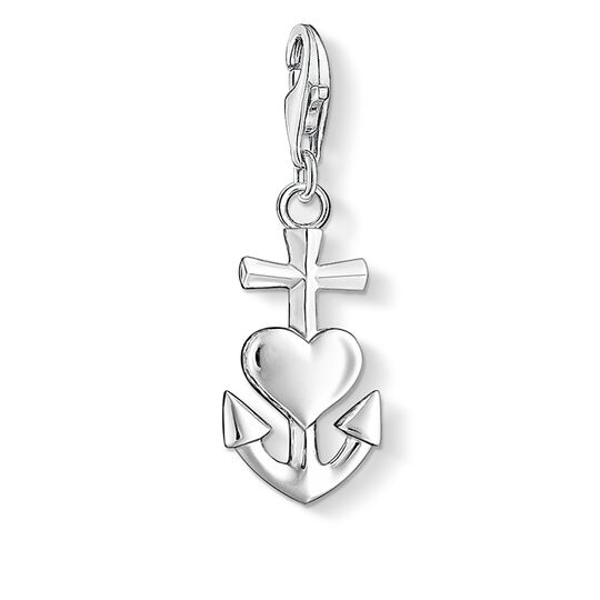 Charm pendant cross, heart, anchor from the  collection in the THOMAS SABO online store