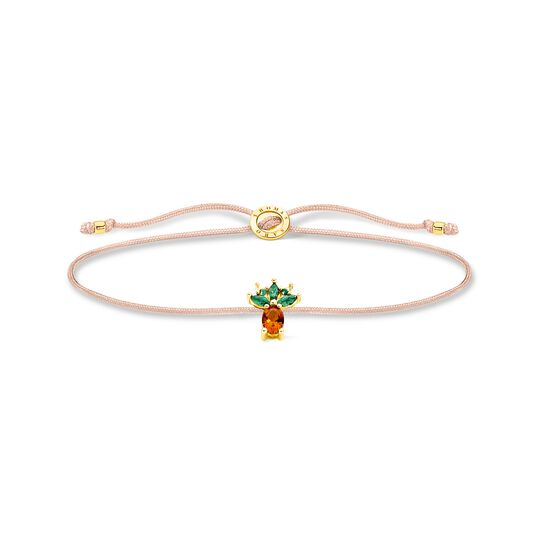 Bracelet Little Secret pineapple gold from the Charming Collection collection in the THOMAS SABO online store
