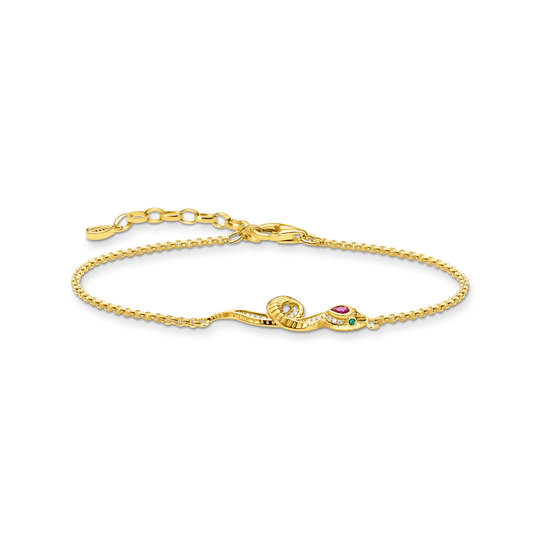 Bracelet snake gold from the Glam & Soul collection in the THOMAS SABO online store