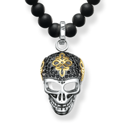 necklace Diamond skull from the Rebel at heart collection in the THOMAS SABO online store