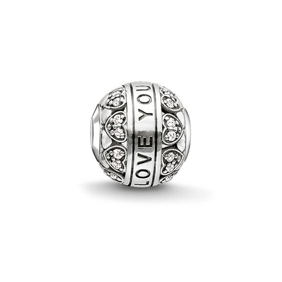 "Bead ""I LOVE YOU"" de la collection Karma Beads dans la boutique en ligne de THOMAS SABO"