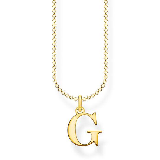Chaîne lettre G or de la collection Charming Collection dans la boutique en ligne de THOMAS SABO
