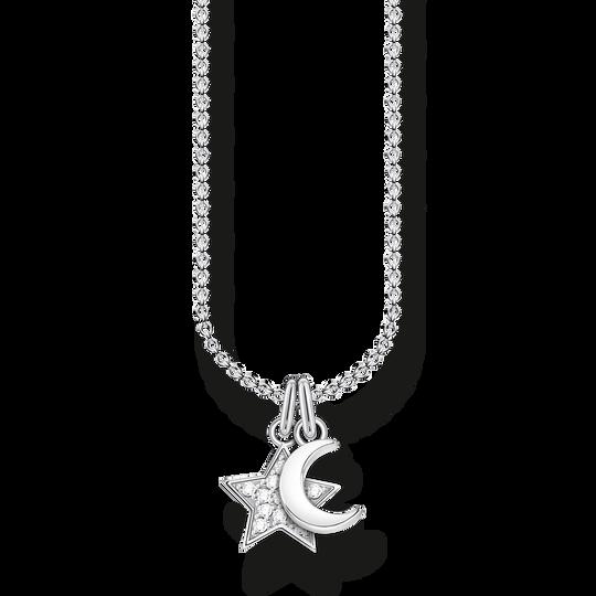 Chaîne étoile & lune de la collection Charming Collection dans la boutique en ligne de THOMAS SABO