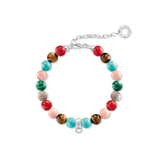 Charm bracelet coloured from the Charm Club collection in the THOMAS SABO online store