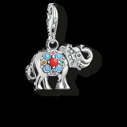 Thomas Sabo Charm pendant Indian elephant multicoloured 1668-506-7 Thomas Sabo