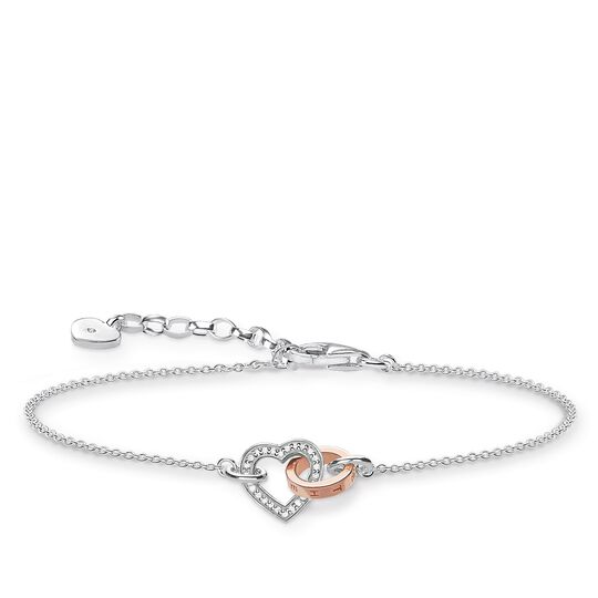 "bracelet ""TOGETHER Heart"" from the Glam & Soul collection in the THOMAS SABO online store"