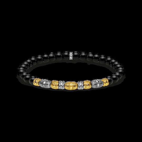 Armband Talisman bicolor schwarz aus der Glam & Soul Kollektion im Online Shop von THOMAS SABO