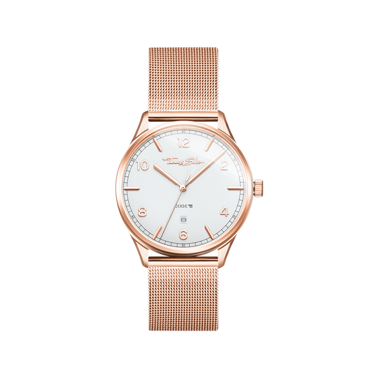 Watch unisex CODE TS rosegold from the Glam & Soul collection in the THOMAS SABO online store