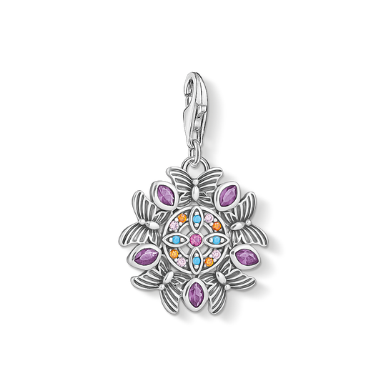 charm pendant amulet kaleidoscope silver from the Charm Club collection in the THOMAS SABO online store
