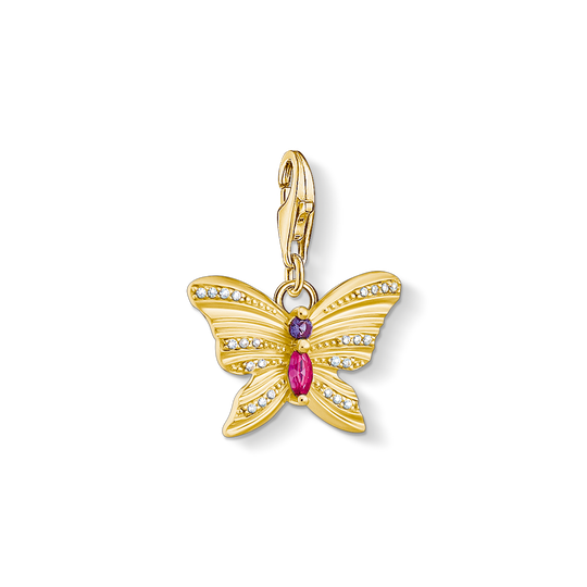 charm pendant butterfly gold from the Charm Club collection in the THOMAS SABO online store