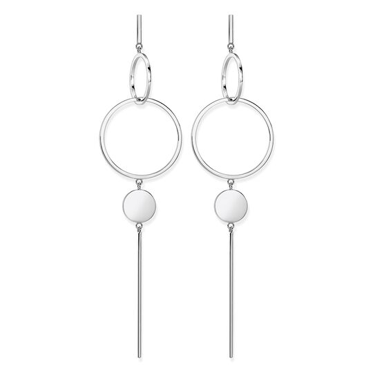 """earrings """"disc"""" from the Glam & Soul collection in the THOMAS SABO online store"""