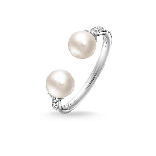 pearl ring from the Glam & Soul collection in the THOMAS SABO online store