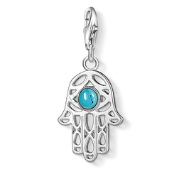 Charm pendant Hand of Fatima from the  collection in the THOMAS SABO online store