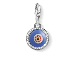 Charm pendant blue glass eye from the Charm Club Collection collection in the THOMAS SABO online store
