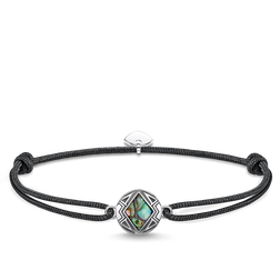 "bracelet ""Little Secret disc abalone mother-of-pearl"" from the Rebel at heart collection in the THOMAS SABO online store"
