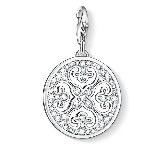 "Charm pendant ""ornament"" from the  collection in the THOMAS SABO online store"