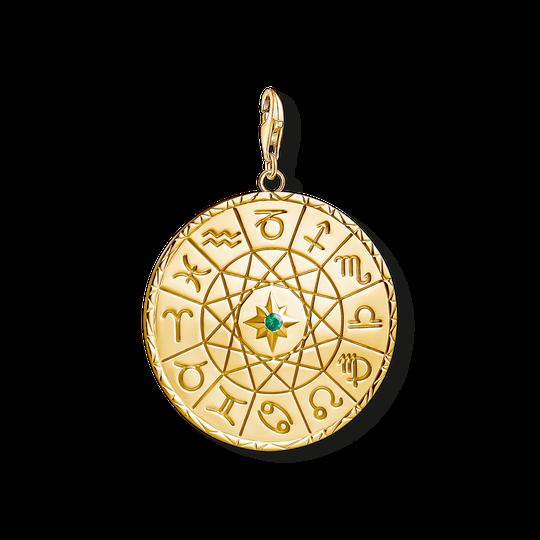 Charm-Anhänger Sternzeichen Coin gold aus der Charm Club Kollektion im Online Shop von THOMAS SABO
