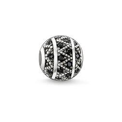 """Bead """"zigzag noir"""" de la collection Karma Beads dans la boutique en ligne de THOMAS SABO"""