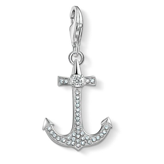 """Charm pendant """"anchor"""" from the  collection in the THOMAS SABO online store"""
