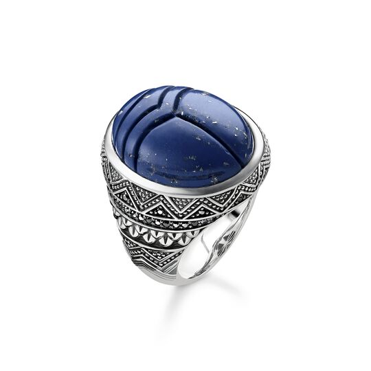 ring blue scarab from the  collection in the THOMAS SABO online store