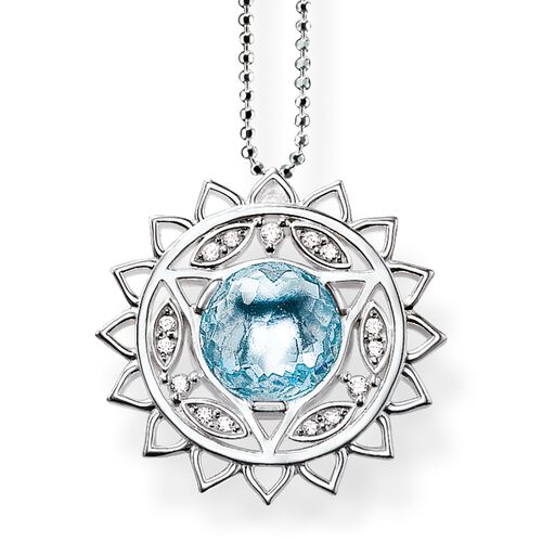 "necklace ""throat chakra"" from the Chakras collection in the THOMAS SABO online store"