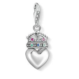 "Charm pendant ""Heart with crown"" from the  collection in the THOMAS SABO online store"