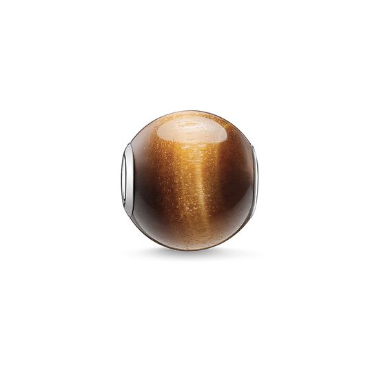 """Bead """"brown"""" from the Karma Beads collection in the THOMAS SABO online store"""