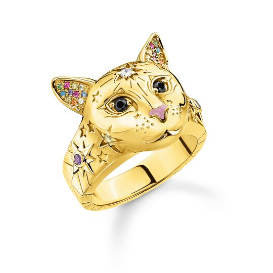 bague chat or de la collection Glam & Soul dans la boutique en ligne de THOMAS SABO
