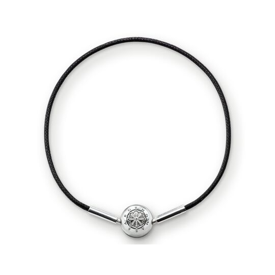 Bracelet for Beads black from the Karma Beads collection in the THOMAS SABO online store