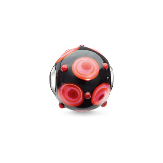 "Bead ""rouge, noir, rose, orange"" de la collection Karma Beads dans la boutique en ligne de THOMAS SABO"