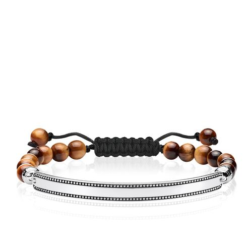 """bracelet """"brown"""" from the Love Bridge collection in the THOMAS SABO online store"""
