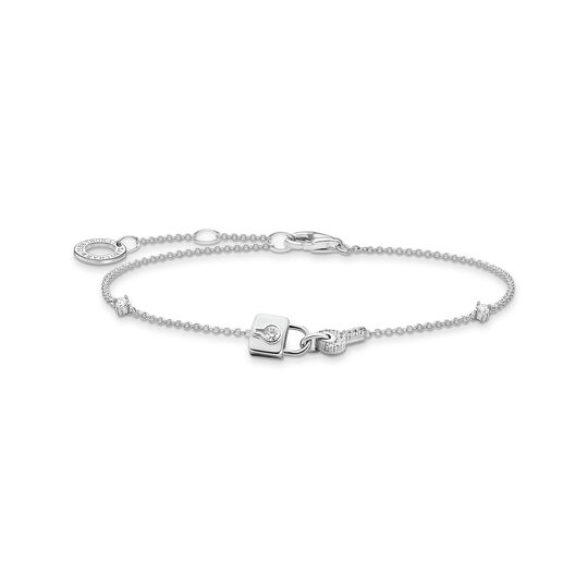 Bracelet lock silver from the Charming Collection collection in the THOMAS SABO online store