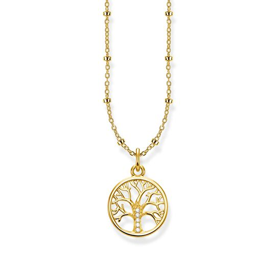 chaîne Tree of Love doré de la collection Glam & Soul dans la boutique en ligne de THOMAS SABO