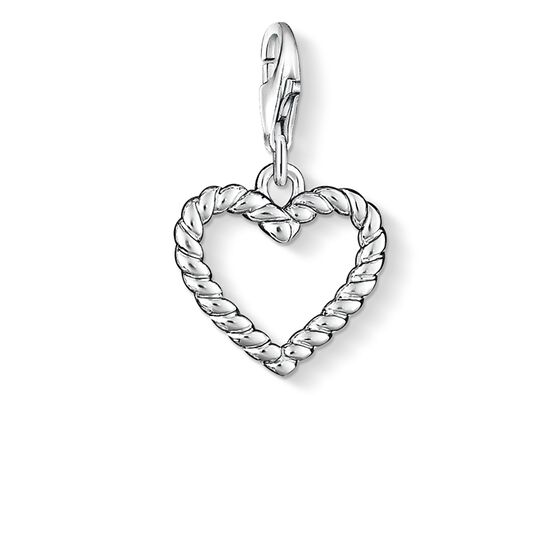"""ciondolo Charm """"cuore"""" from the  collection in the THOMAS SABO online store"""