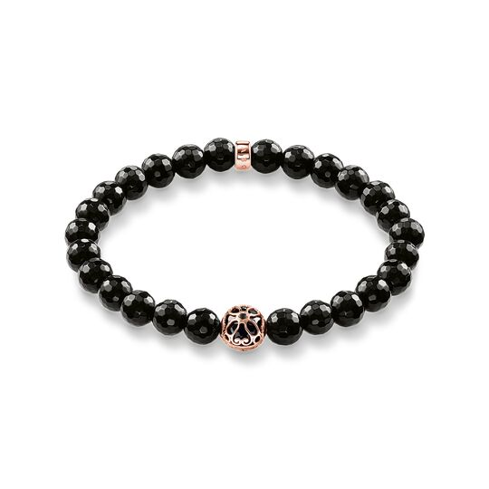 bracelet black lotos blossom from the  collection in the THOMAS SABO online store