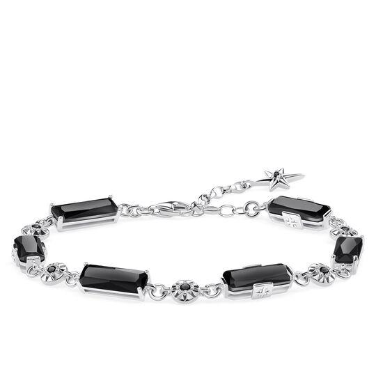 Armband Schwarze Steine mit Sternen aus der Glam & Soul Kollektion im Online Shop von THOMAS SABO
