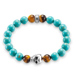 "bracelet ""ethnic skull"" from the Rebel at heart collection in the THOMAS SABO online store"