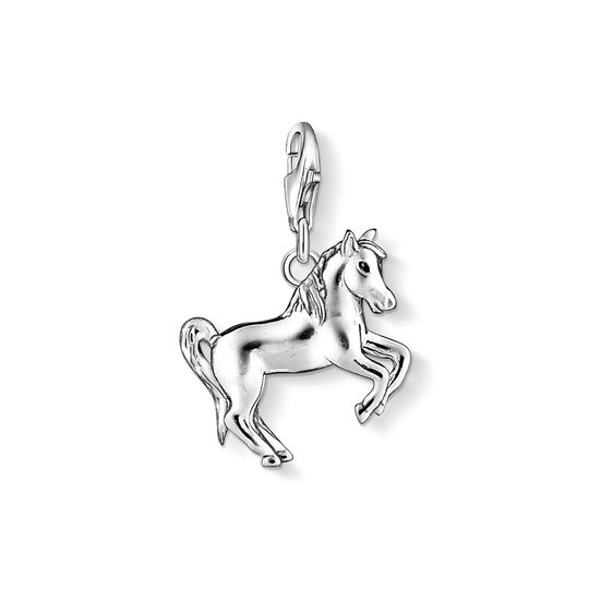 Charm pendant horse from the Charm Club collection in the THOMAS SABO online store