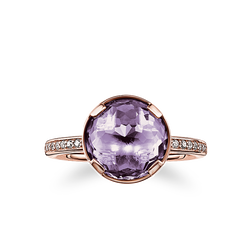 "solitaire ring ""third-eye chakra"" from the Chakras collection in the THOMAS SABO online store"