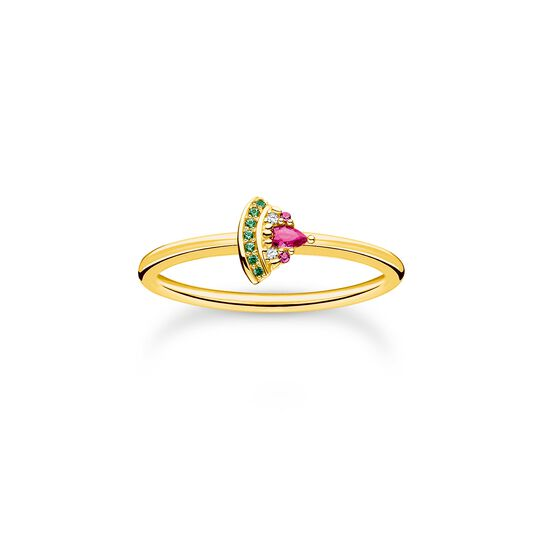 Ring watermelon gold from the Charming Collection collection in the THOMAS SABO online store
